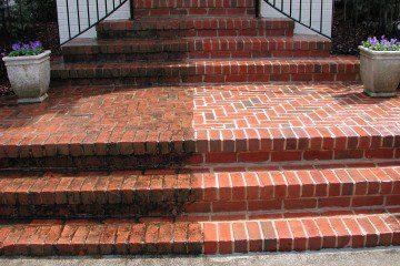 half clean steps